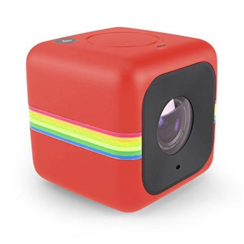 Polaroid CUBE+ 8MP Quad HD Lifestyle Action Video Camera, Red POLCPR