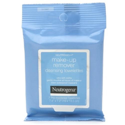 Neutrogena Make-Up Remover Cleansing Towelettes 7 ea (Pack of 2)