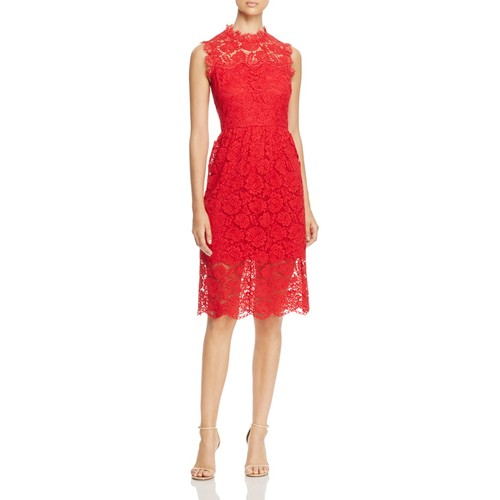 KATE SPADE NEW YORK Poppy Lace Midi Dress