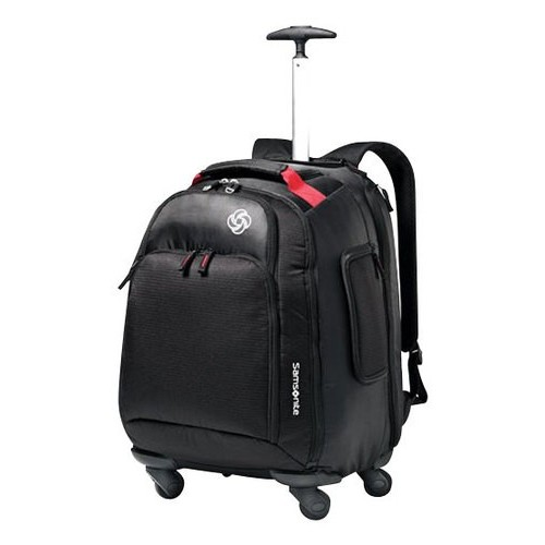 Samsonite Luggage Mvs Spinner Backpack [Black]