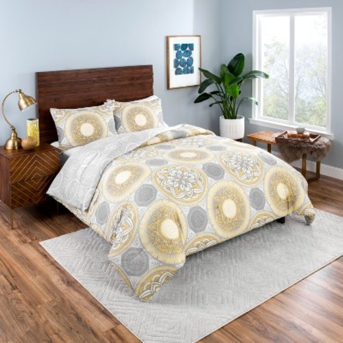 Gray Gwenn Reversible Comforter Set - Vue