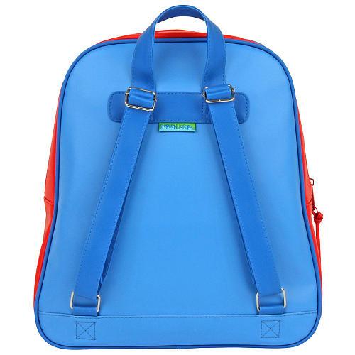 Stephen Joseph Racer Car Red/Blue Go Go 12 inch Backpack