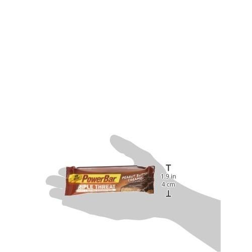 PowerBar Protein Snack Bar, Peanut Butter Caramel, 50 Gram, 1.76 Ounce 15 count [Peanut Butter Caramel, Pack of 15]