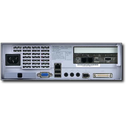 Sony - VAIO Slimtop LCD Desktop with Intel Pentium III Processor 800MHz