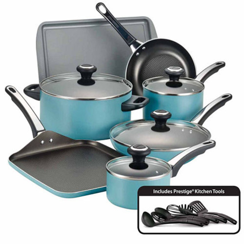 Farberware High Performance 17 pc Nonstick Cookware Set JCPenney
