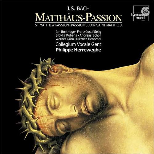 Johann Sebastian Bach: Matthus-Passion [CD]