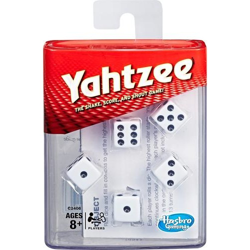 Hasbro - Gaming Yahtzee Dice Game