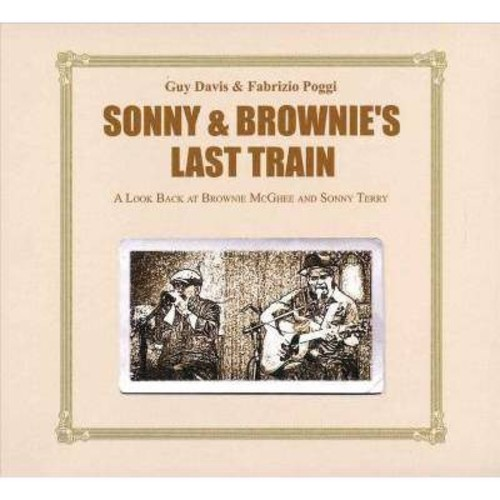 Guy Davis - Sonny & Brownie's Last Train (CD)