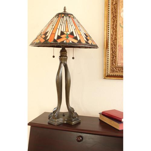 Tiffany-style Mesa Table Lamp