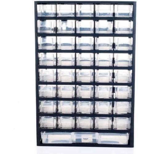 Stalwart 41-Compartment Hardware Storage Box