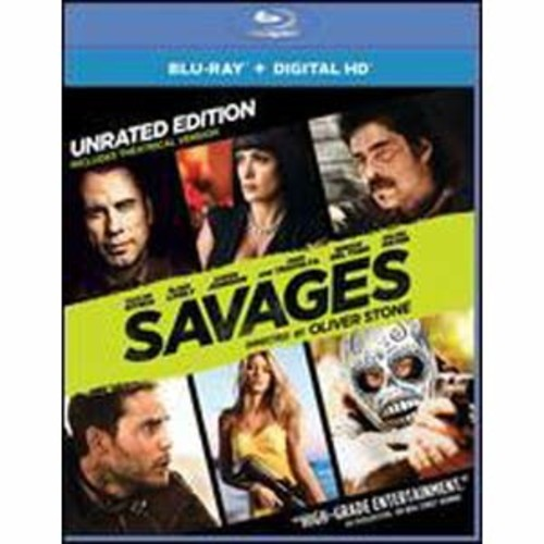Savages [Includes Digital Copy] [UltraViolet] [Blu-ray] COLOR/WSE DD5.1/DD2/DHMA