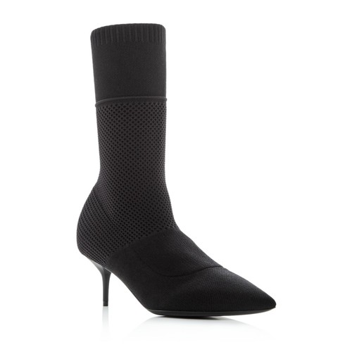 BURBERRY Women'S Lynda Knit High Heel Booties