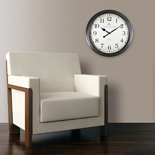 FirsTime Avery Round Wall Clock, 20