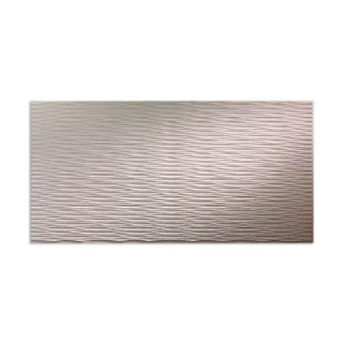 Fasade Dunes Horizontal 96 in. x 48 in. Decorative Wall Panel in Almond