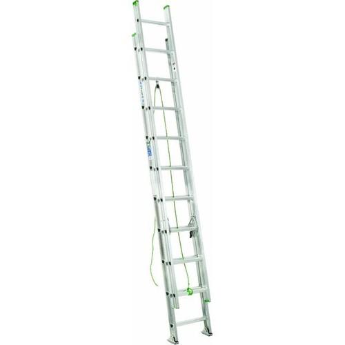 Werner Type II Aluminum Extension Ladder - D1220-2