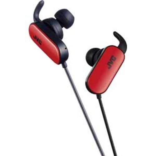 JVC In-Ear Wireless Sports Headphones - Red