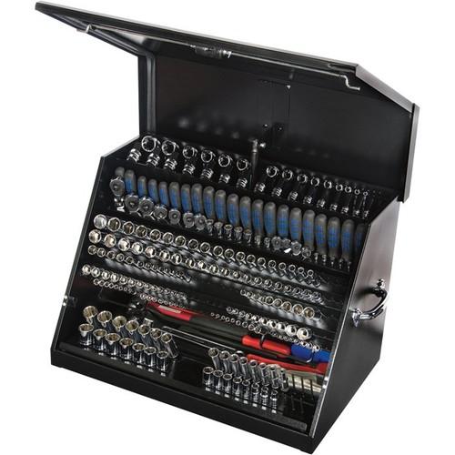 Montezuma Steel Open Top Tool Truck Box  Black, 30in.W x 19in.D x 20 1/8in.H
