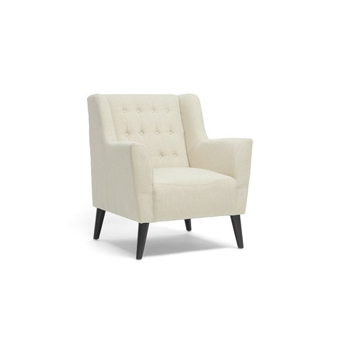 Berwick Beige Linen Arm Chair