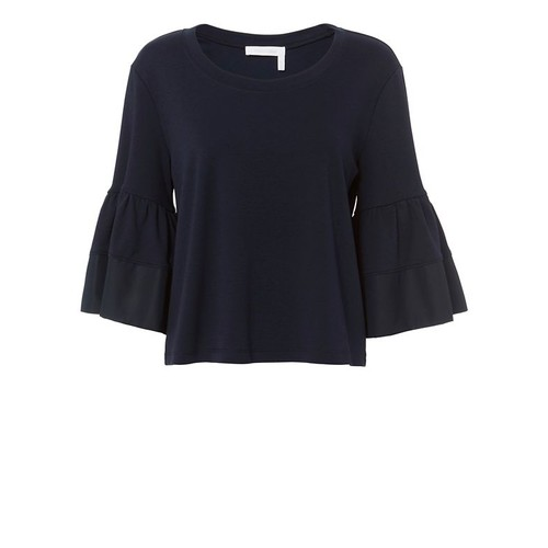 SEE BY CHLOÉ Bell-Sleeved T-Shirt