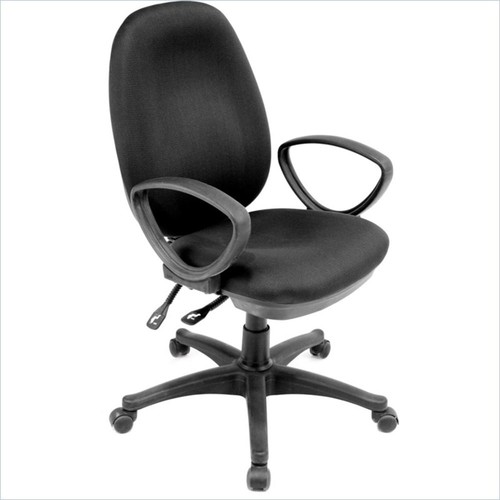Regency - Regency Momentum Fabric Task Office Chair in Black - Black