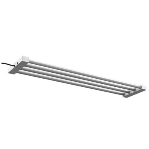 Feit Electric 4 ft. 4-Light 76-Watt White Integrated LED Utility Shop Light Fixture (4-Pack)