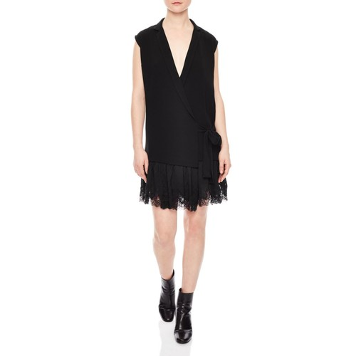 SANDRO Ringo Drop-Waist Dress