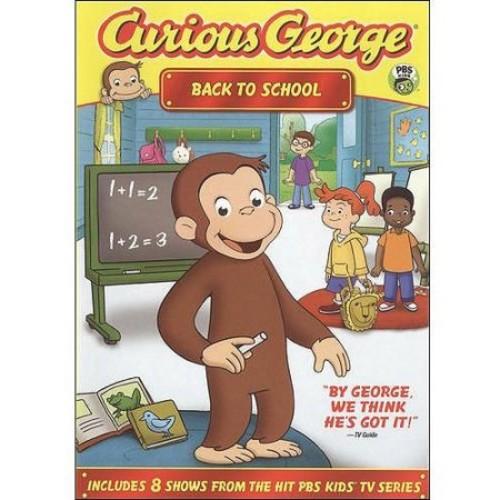 Curious George: Back To School (DVD + School Calendar) (Full Frame)