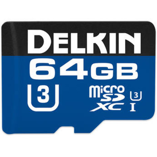 64GB 660x microSDXC UHS-I Memory Card with SD Adapter