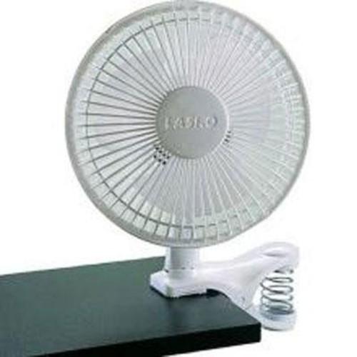 Lasko #2004W 6-Inch 2-SPEED White Clip Fan [Standard Packaging]
