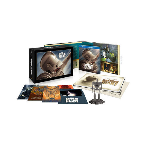 Iron Giant Collectors Edition Blu-Ray Combo Pack (Blu-Ray/DVD/Digital HD)