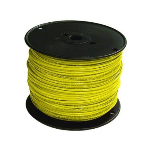 Southwire 500 ft. 16 Yellow Stranded CU TFFN Fixture Wire