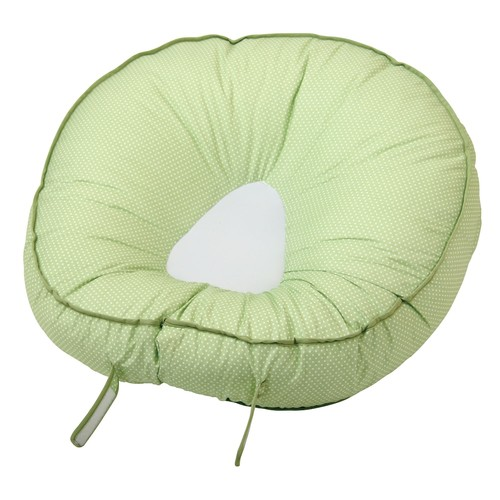 Leachco Podster Sling-Style Infant Seat Lounger, Sage Pin Dot [Sage Pin Dot]
