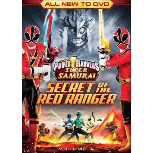 Power Rangers Super Samurai, Vol. 4: The Secret of the Red Ranger