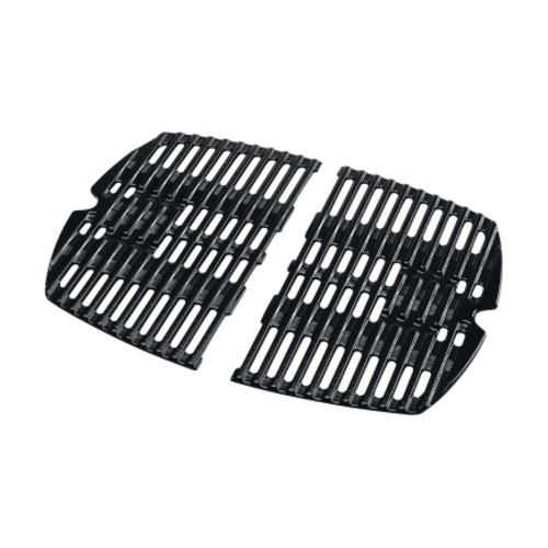 Weber Porcelain Enameled Cast Iron Grill Cooking Grate 12-3/4 in. W x 17 in. D(7644)