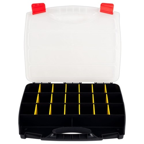 Stalwart Parts 23-compartment Organizer Box