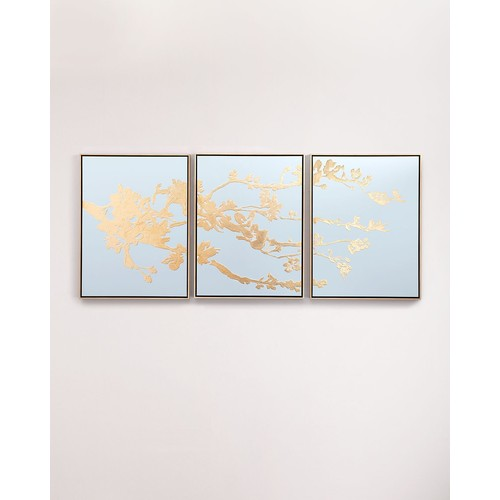 Blossoming in Gold Painting