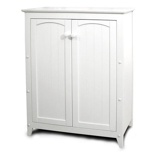 Catskill Craftsmen Double Door Kitchen Cabinet, White [White]