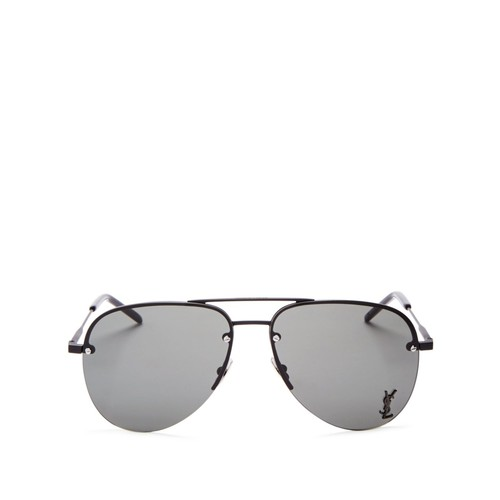 SAINT LAURENT Classic 11 Aviator Sunglasses, 59Mm
