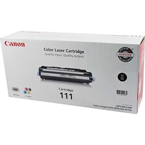 CANON BLACK TONER CARTRIDGE 111 F/ MF9150C MF9170C 6000PG YIELD / 1660B001 /