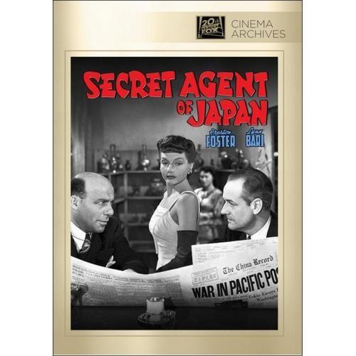 Secret Agent of Japan [DVD] [English] [1942]