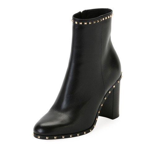 VALENTINO 90Mm Soul Stud Ankle Boot