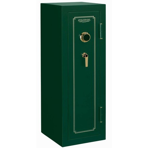 Stack-On 14-Gun Fire Rates Safe with Combination Lock, Matte Hunter Green
