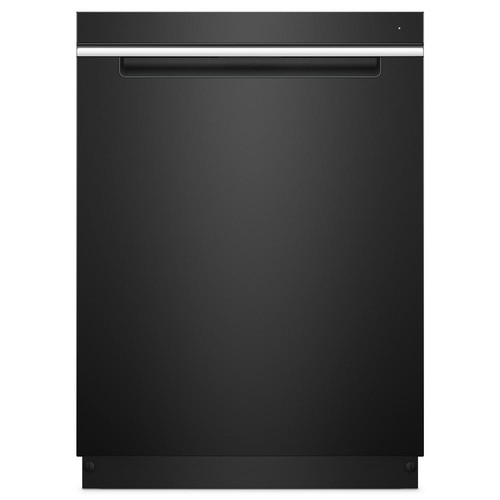 Whirlpool Top Control Built-In Tall Tub Dishwasher in Black with Stainless Steel Tub