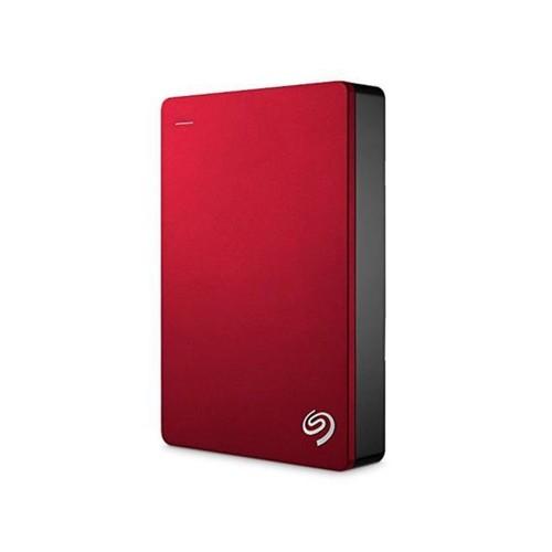 Seagate Backup Plus 5TB Portable External Hard Drive USB 3.0, Red (STDR5000103) FOR Mac, PC
