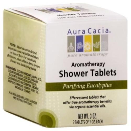 Aura Cacia 3 oz. Purifying Aromatherapy Shower Tablets in Eucalyptus