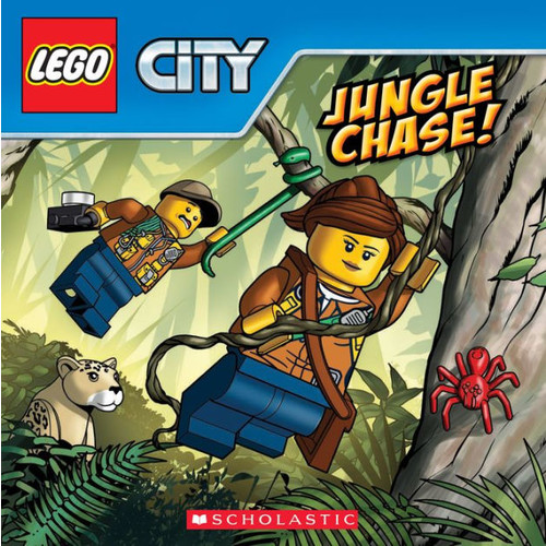 Jungle Chase! (LEGO City: Storybook)