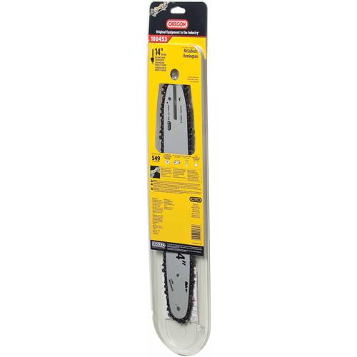 Oregon 14-Inch Bar & 91VG Chain Saw Blade Combination Fits McCulloch, Remington 100453 [Silver]