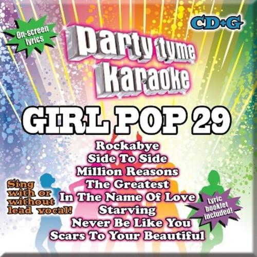 Party Tyme Karaoke: Girl Pop 29 CD (CD+G)