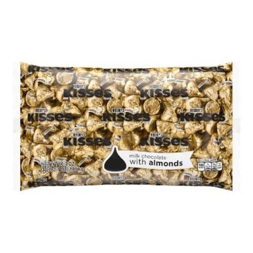 HERSHEY'S KISSES Milk Chocolates with Almonds Gold - 66.7oz