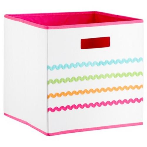 Ric Rac KD Storage Bin Pink - Pillowfort